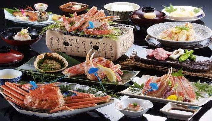 城崎温泉 三木屋 カニ料理