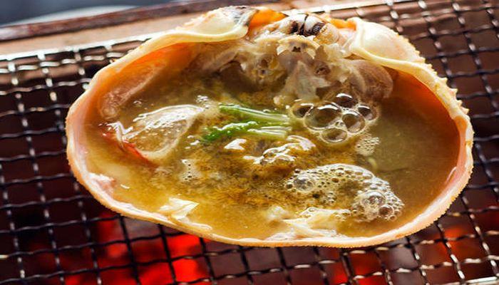 カニ味噌焼き