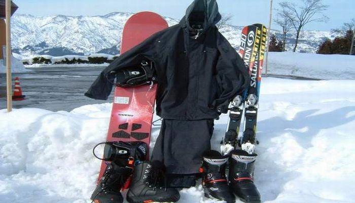 スキーレンタルセット