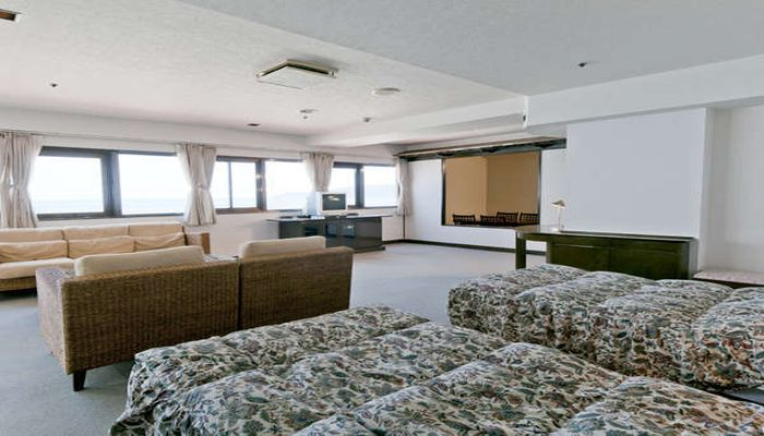 客室(ホテル棟)