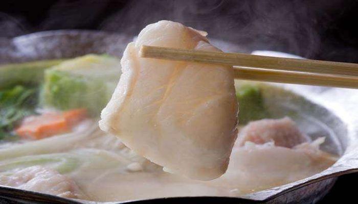 紀州本クエの鍋料理