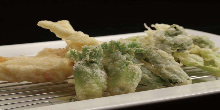 野草の天ぷら