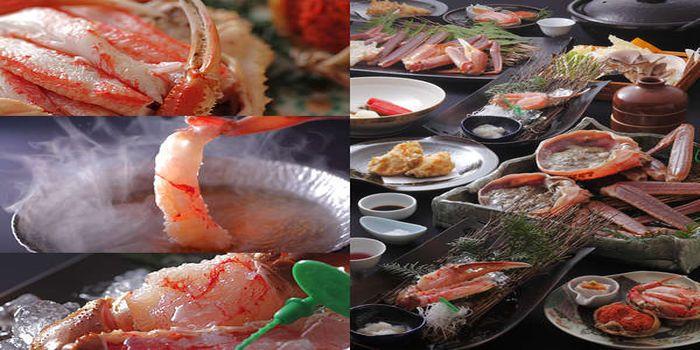 間人蟹のフルコース