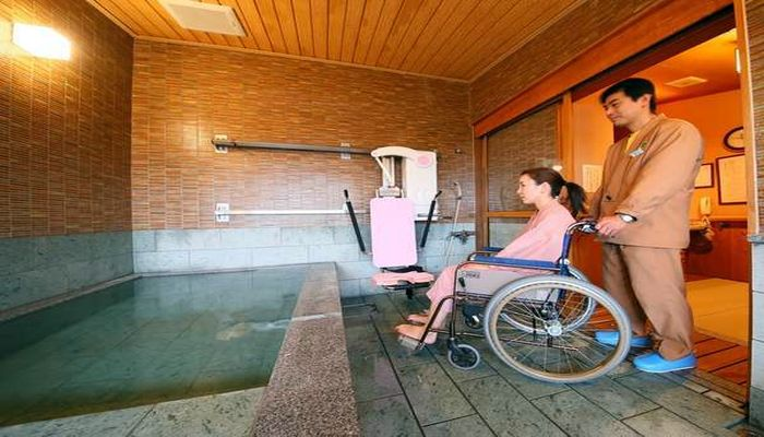 リフト付き貸切風呂