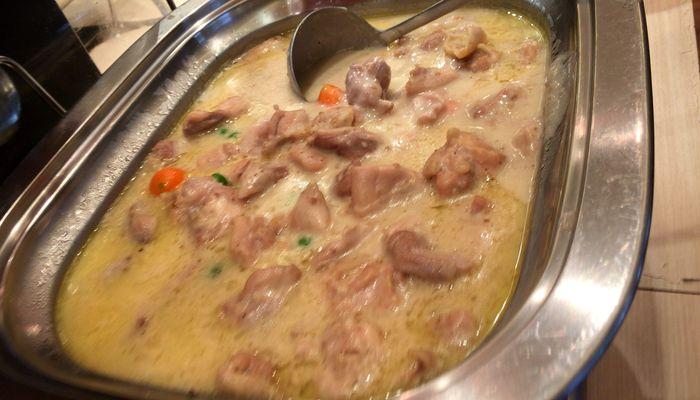 鳥肉のクリーム煮