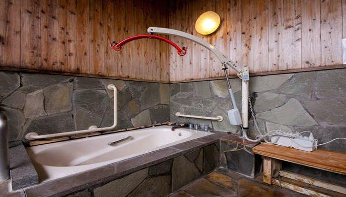 車椅子専用浴槽