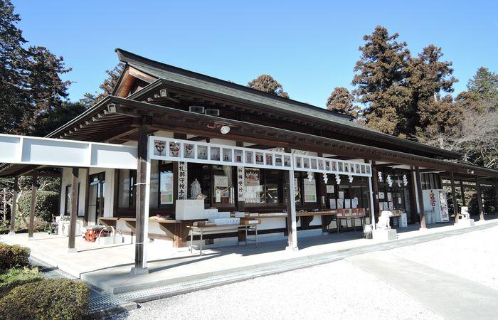 白鷺神社の社務所