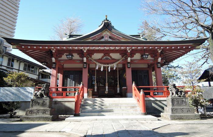 越谷香取神社社(拝殿)