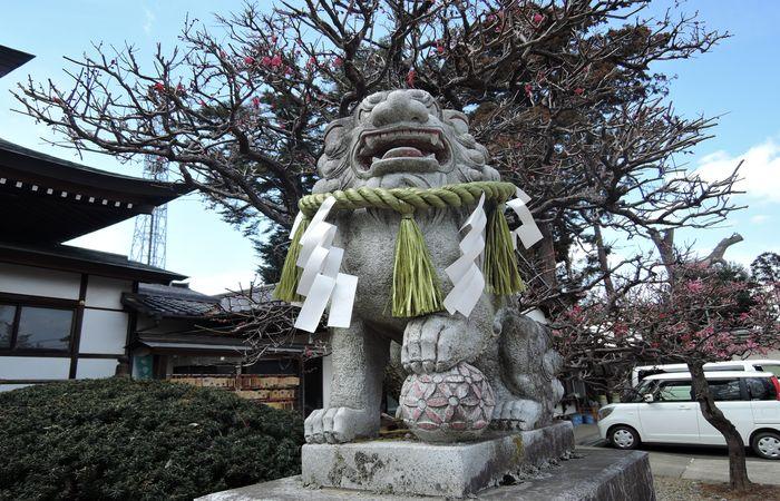 水海道天神社(鳥居)
