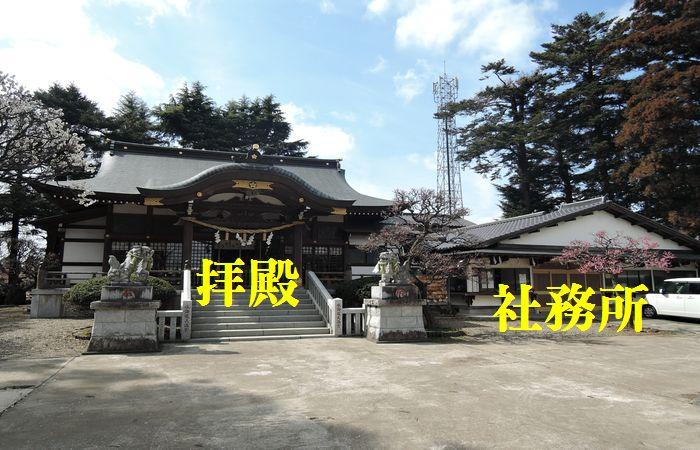 水海道神社の社務所