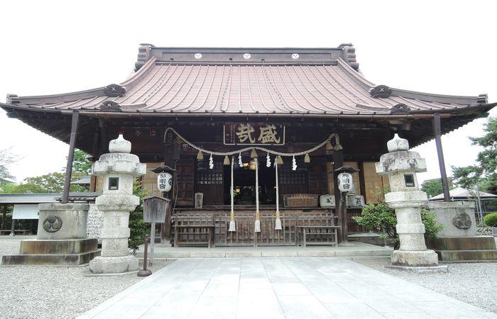 神明宮(拝殿)