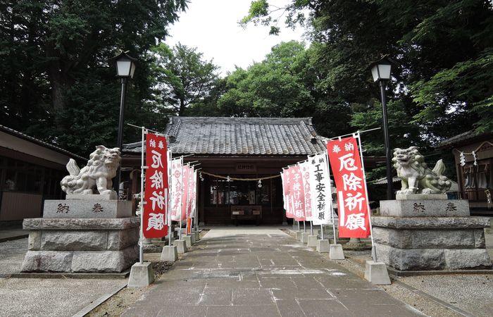 宗任神社(拝殿)