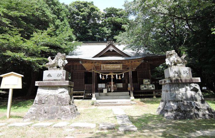 櫻川磯部稲村神社(拝殿)