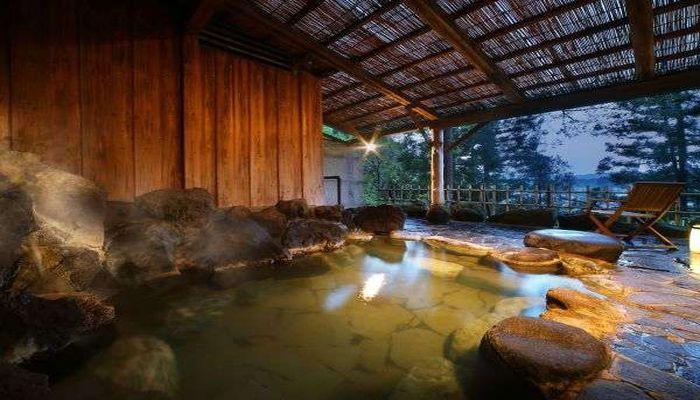 塩化物泉の温泉地