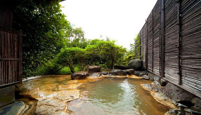 二酸化炭素泉の温泉地