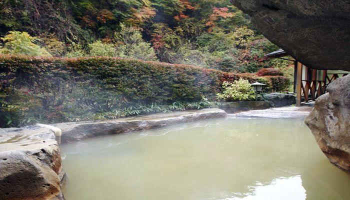 含鉄泉の温泉地