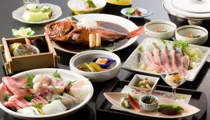 海鮮会席料理