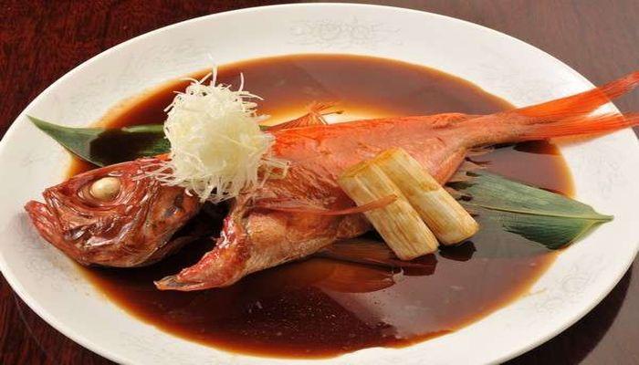 稲取産キンメダイの姿煮
