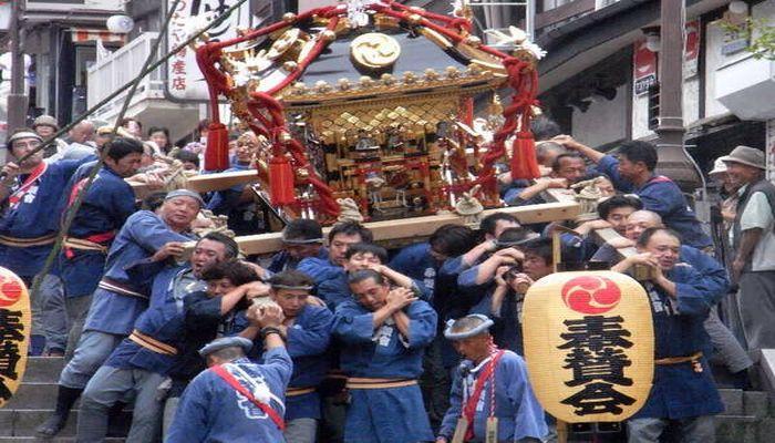 伊香保温泉のお祭り