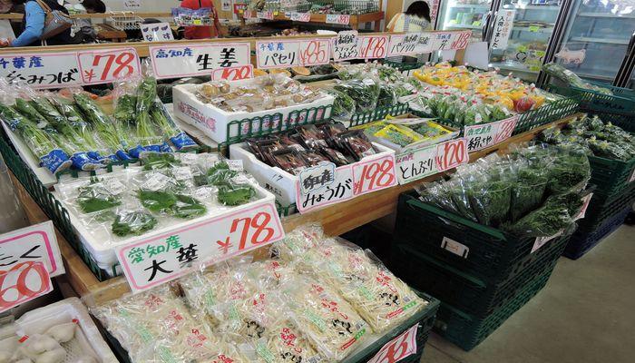 各県の新鮮野菜