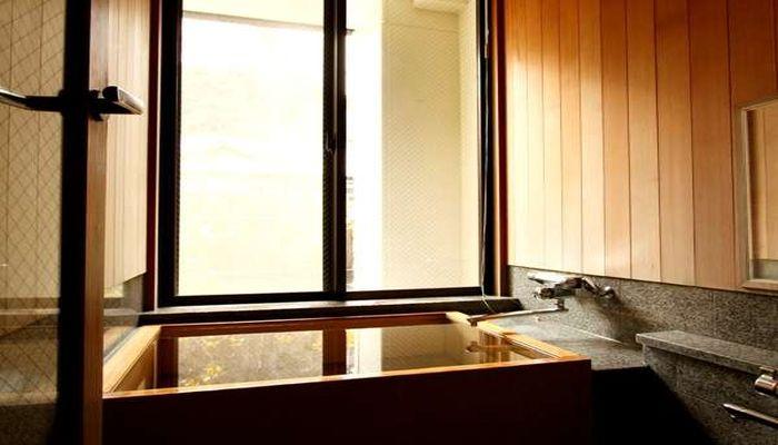 客室温泉風呂