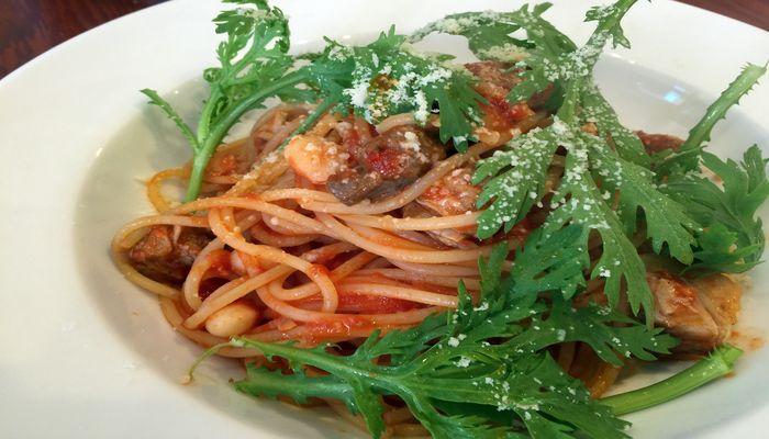トマトソーススパゲティー