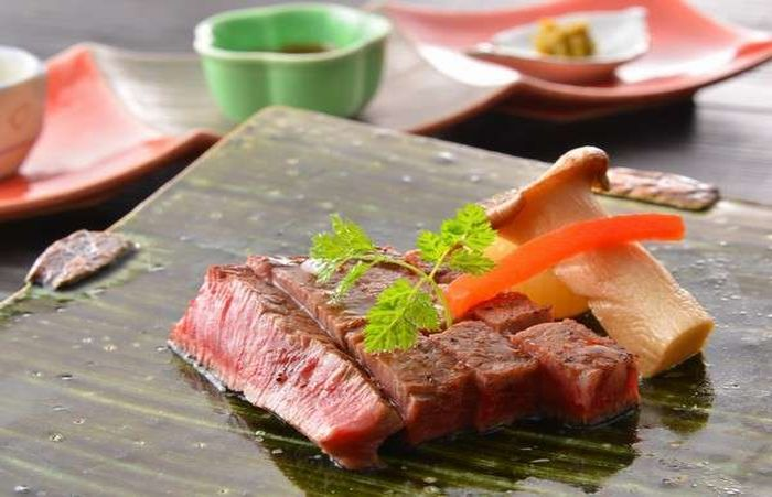 栃木和牛のステーキ