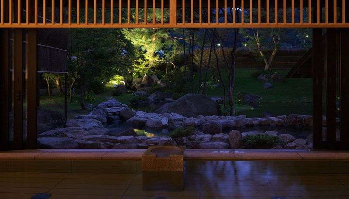庭園貸切風呂