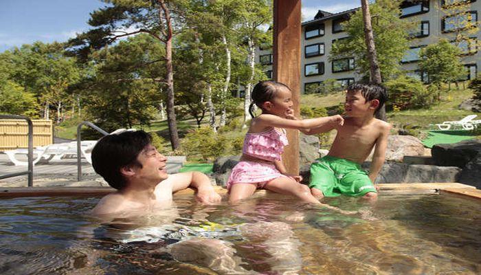 水着で入れる温泉