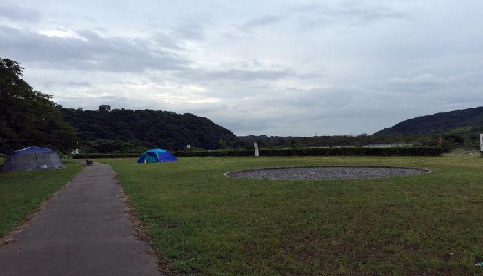 キャンプ場のフリースペース