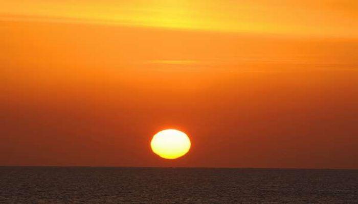 天草西海岸の夕日