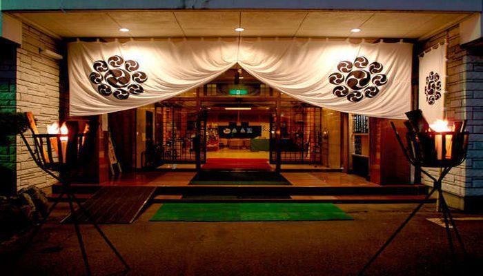 旬彩の庄 坂戸城の入り口