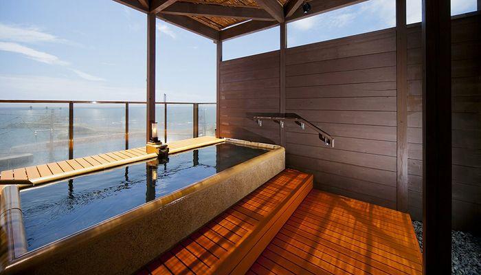 屋上展望風呂