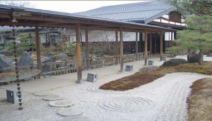 枯山水の庭