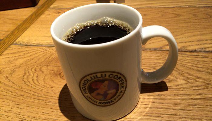 マカダミアンナッツコーヒー