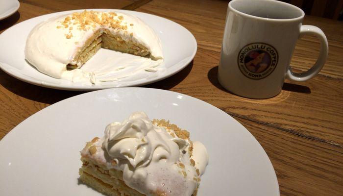 ホノルルコーヒーパンケーキ