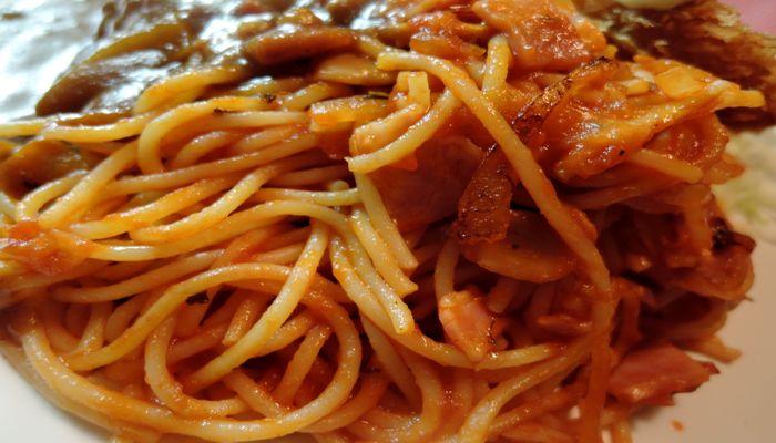 昔ながらのスパゲティー
