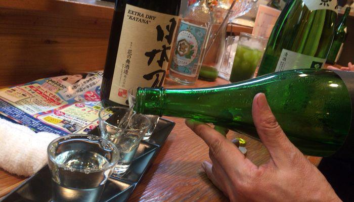 日本酒の飲み比べセット