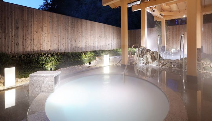 パールオーロラ風呂