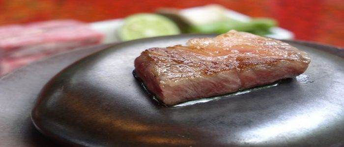 和牛の石焼きステーキ