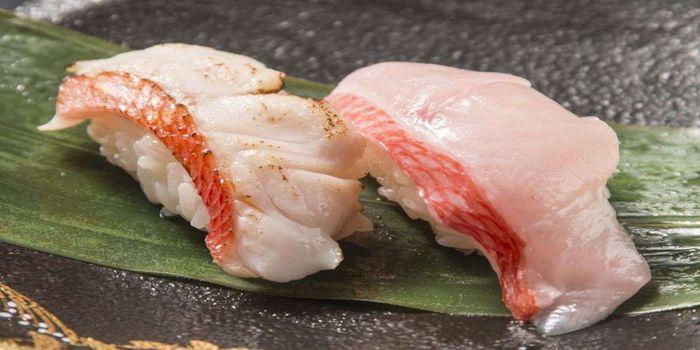 金目鯛の握り寿司