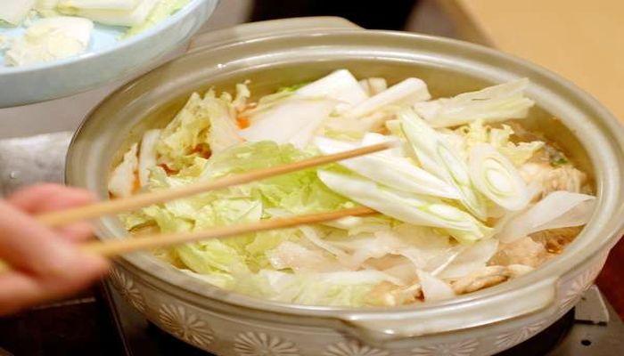 どぶ汁(野菜入れ)