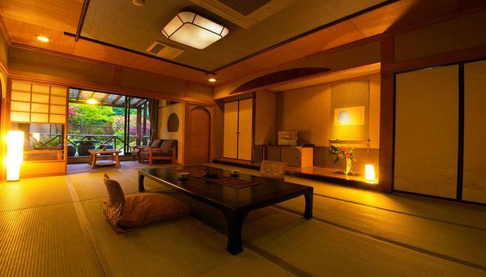 楠水閣の部屋
