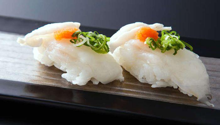 ふぐの握り寿司