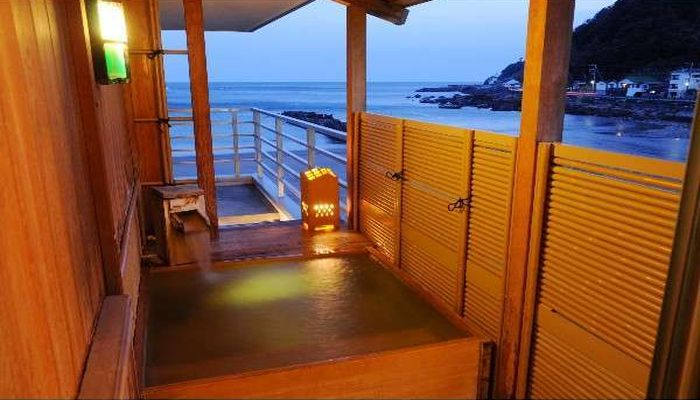 海遊亭(客室露天風呂)