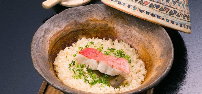 金目鯛土鍋ご飯