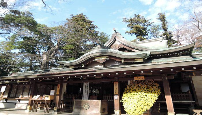 一言主神社(拝殿)