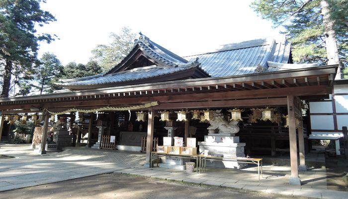 大宝八幡宮(拝殿)