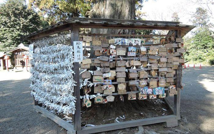 鷲宮神社(絵馬掛け所)