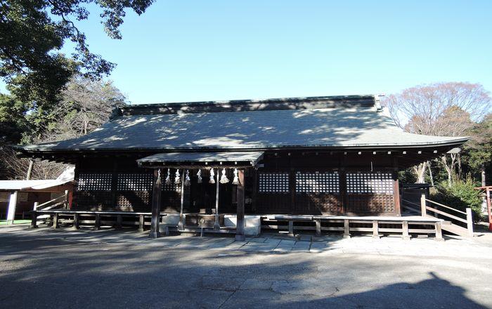 鷲宮神社(拝殿)
